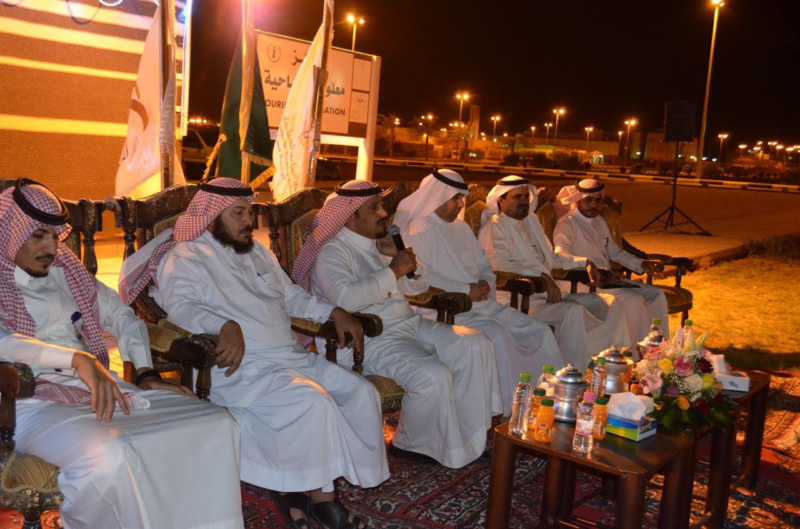 صالح بن عبدالكريم المحيميد يفتتح صيف عرعر 375
