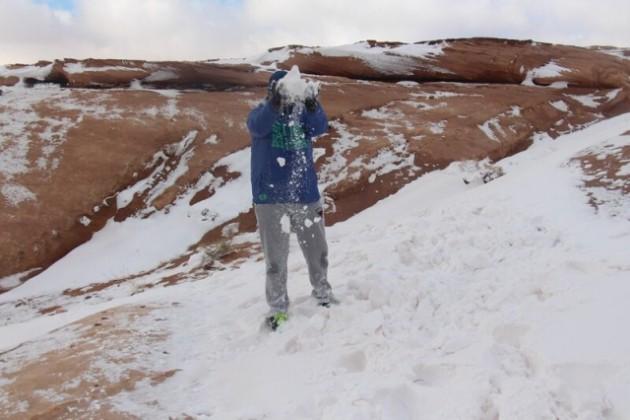 صحراء تبوك بلون ابيض (3)