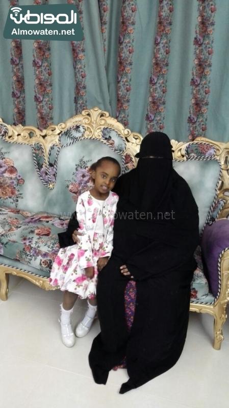صحيفة المواطن الطفلة السومالية في احضان الام السعودية (2)