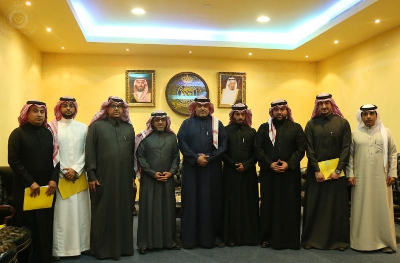 صــور للإجتماع الأول لمجلس إدارة نادي النصر4