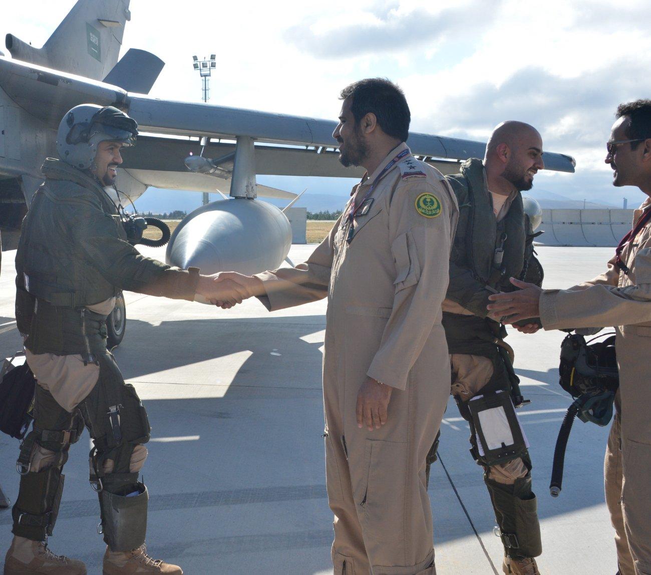صقور الجو السعوديين يصلون قاعدة كونيا بتركيا للمشاركة في نسر الأناضول10