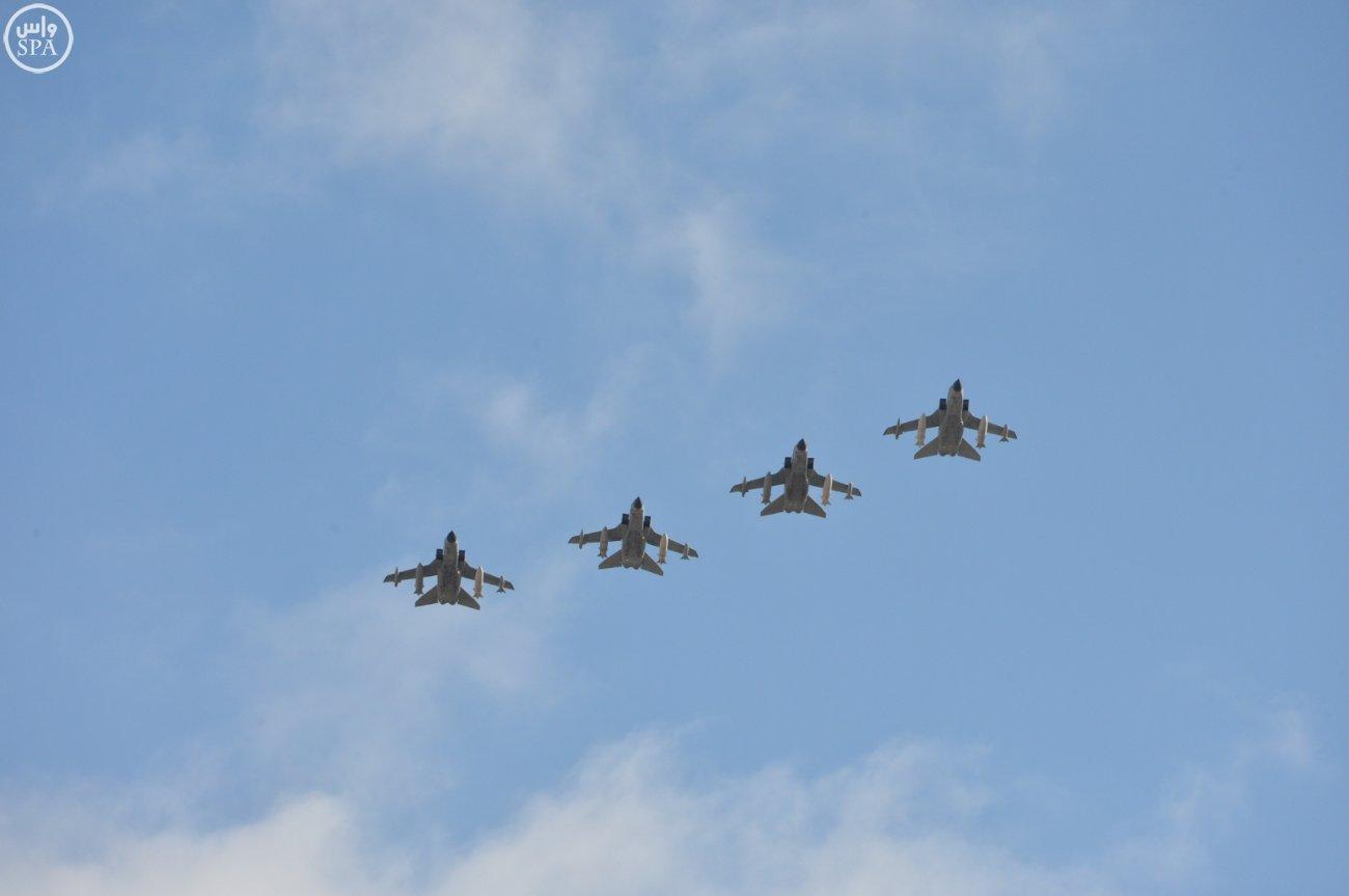 صقور الجو السعوديين يصلون قاعدة كونيا بتركيا للمشاركة في نسر الأناضول7