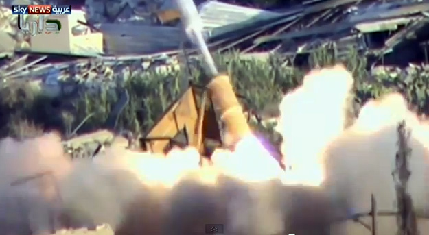 صواريخ كيماوية