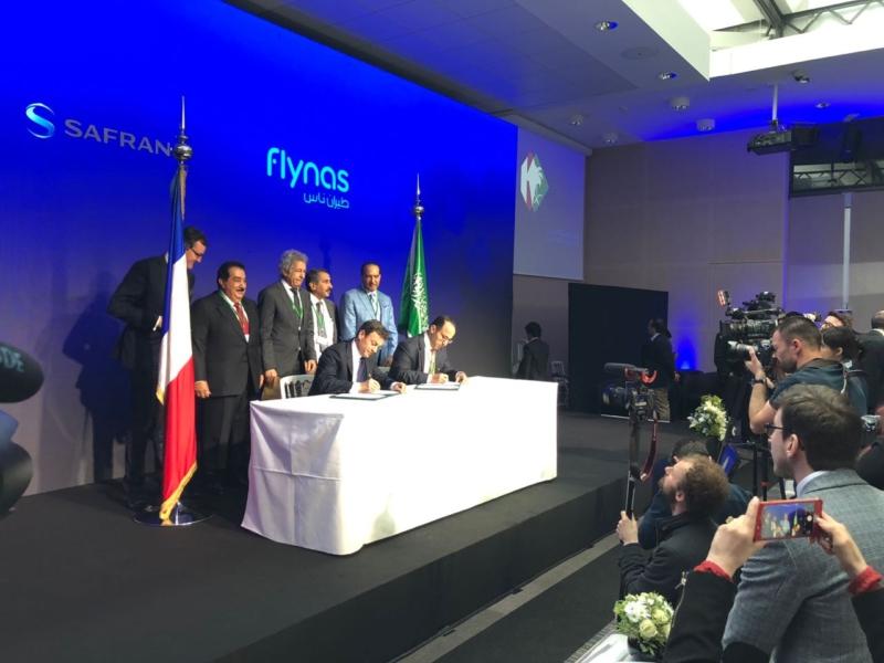 طيران ناس يوقع اتفاقية مع CFM الدولية لشراء محركات LEAP-1A - المواطن