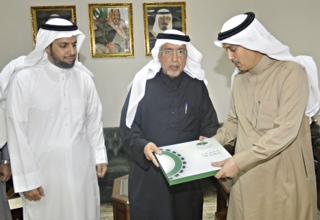 صورة تغطية وزير المياة والكهرباء