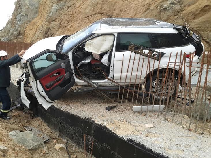 صورة تكلف مواطن تلف سيارتة بمحافظة النماص