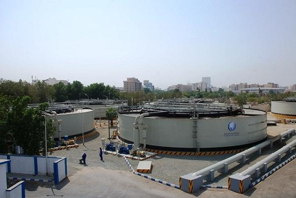 صورة لأحدى المشاريع بشركة المياه