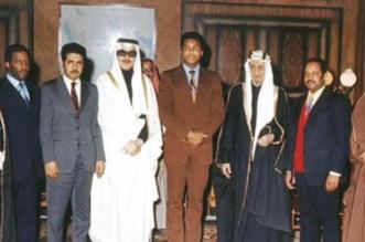شاهد.. صورة نادرة لمحمد علي كلاي والملك فيصل والملك فهد - المواطن