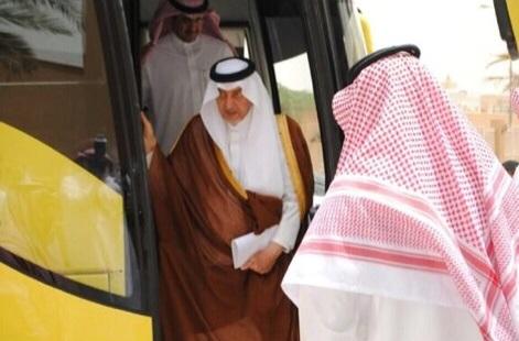 خالد الفيصل - حافلات