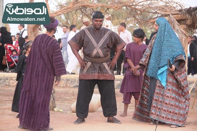 صور جادة عكاظ والفعاليات المصاحبة التي تقام بها في محافظة الطائف (4)