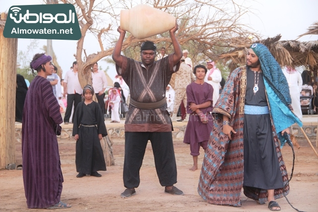 صور جادة عكاظ والفعاليات المصاحبة التي تقام بها في محافظة الطائف (7)