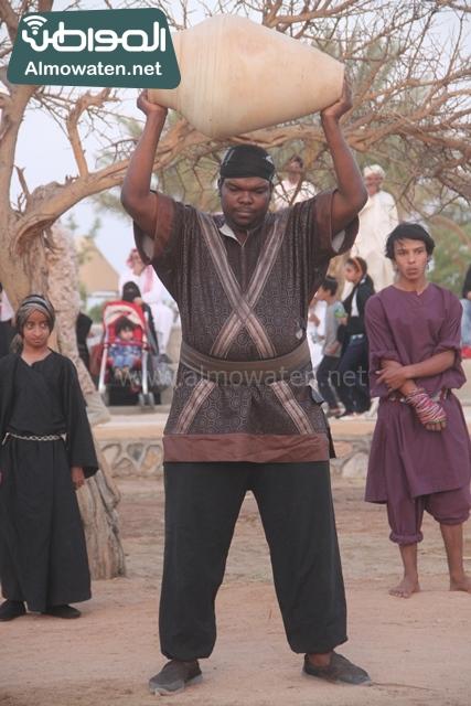 صور جادة عكاظ والفعاليات المصاحبة التي تقام بها في محافظة الطائف (8)