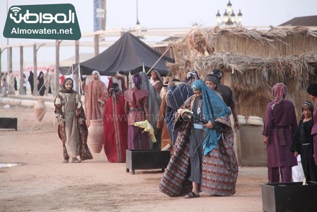 صور جادة عكاظ والفعاليات المصاحبة التي تقام بها في محافظة الطائف (9)