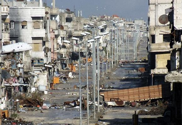 26 قتيلاً وجريحاً في انفجار سيارة مفخخة بمدينة حمص - المواطن