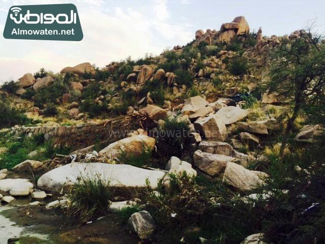 صور وادي ذي غزال بمنطقة الشفاء بمحافظة الطائف ألتقطتها صحيفة المواطن وتضمن عدد كبير من السياح بالمملكة العربية السعودية (12)