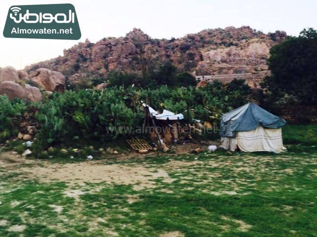 صور وادي ذي غزال بمنطقة الشفاء بمحافظة الطائف ألتقطتها صحيفة المواطن وتضمن عدد كبير من السياح بالمملكة العربية السعودية (5)