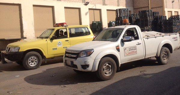 صور.. إغلاق معمل لتكرير الزيوت في #الرياض لمخالفات الأمان (2)