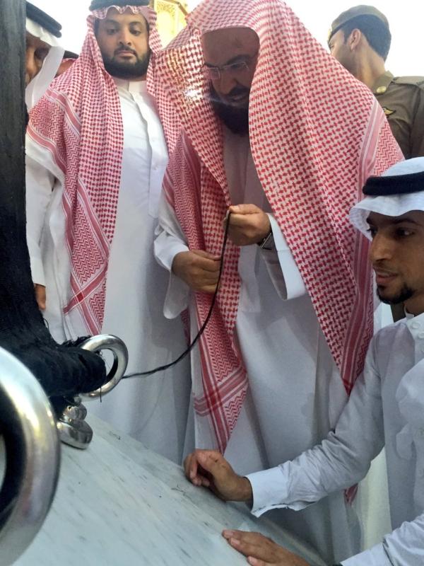 صيانة ثوب الكعبة المشرفة (1)