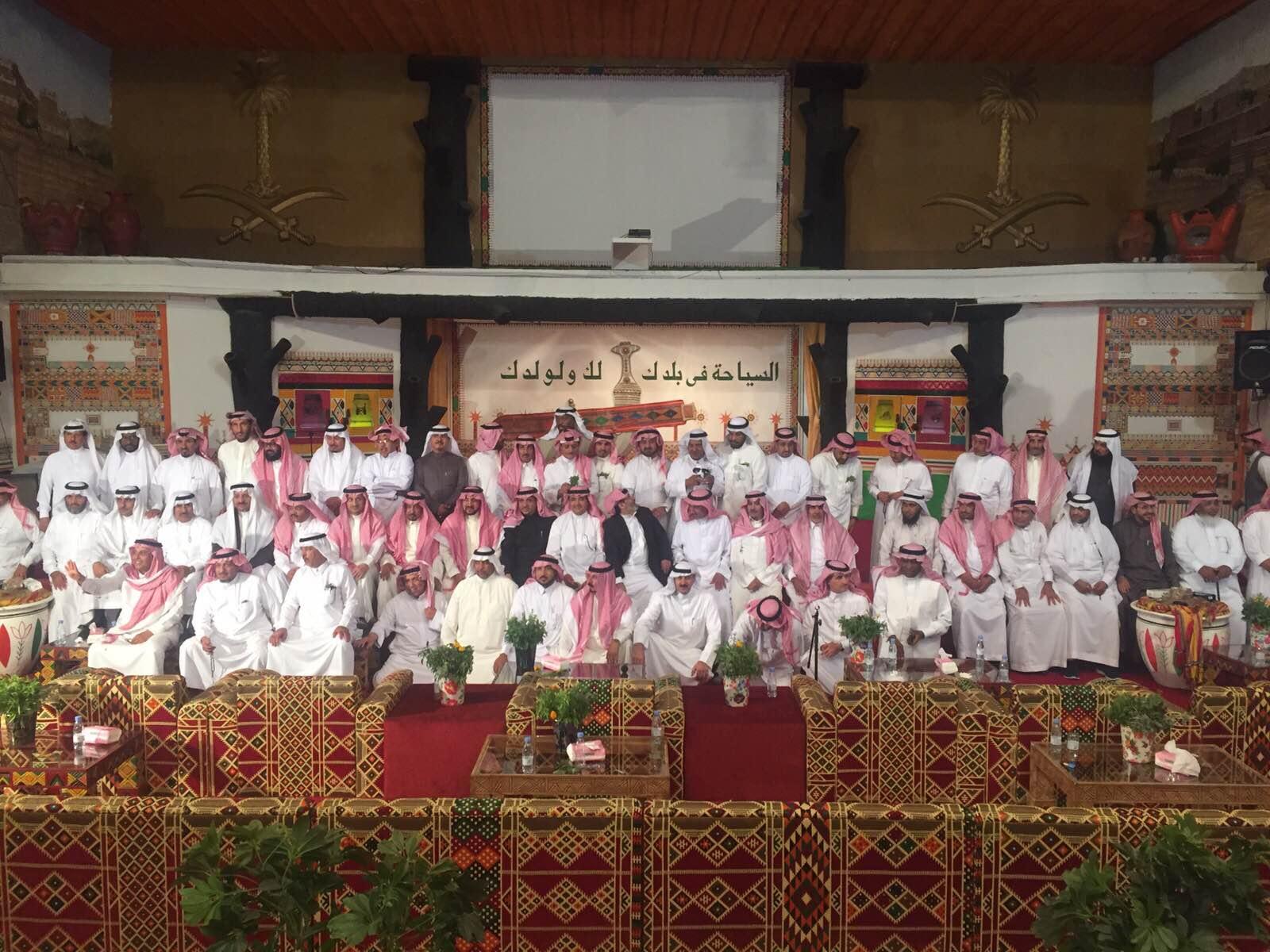 ضباط دورة 38 بكلية الملك فهد في لقاء جماعي بأبها (7)
