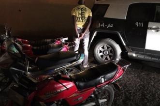 بالصور.. ضبطأكثر من 130 دراجة نارية في حملة أمنية بمكة المكرمة - المواطن