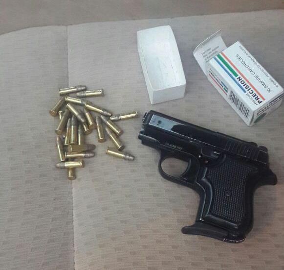 ضبط اسلحة بمكة (1)