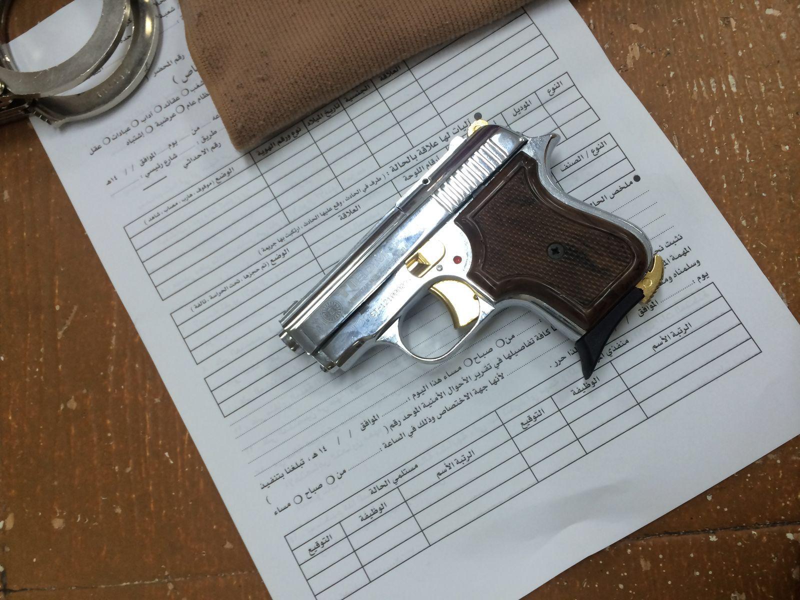ضبط اسلحة بمكة (4)