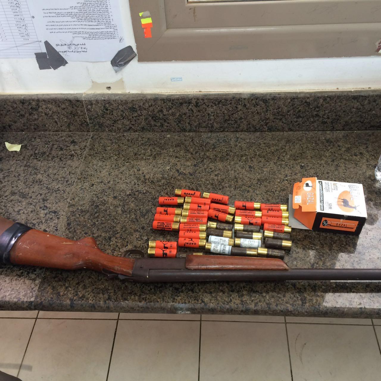 ضبط اسلحة بمكة (7)