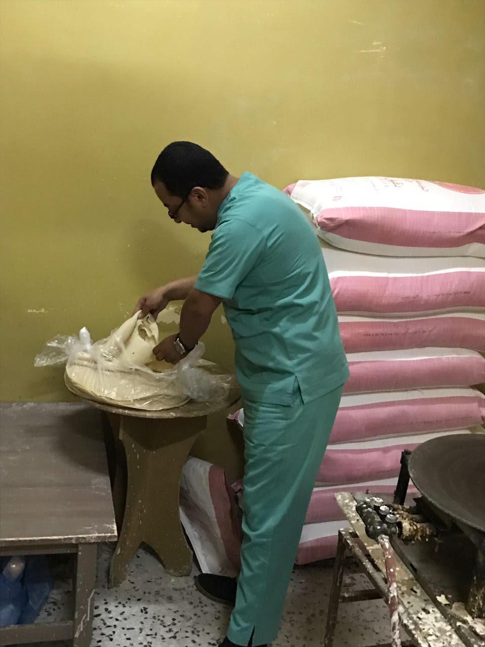 ضبط شقة سكنية تستخدم في تصنيع خبز