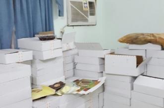 ضبط 300 كرتون تمور تالفة بمستودع عشوائي في مكة المكرمة - المواطن