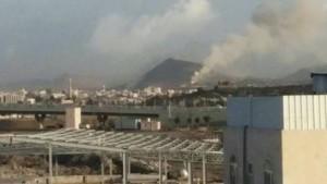 انفجارات بمعسكرات السواد وضبوة جنوب صنعاء