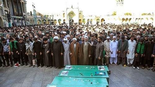 ضحايا ايران في سوريا