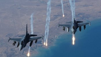 طائرات أمريكية تنفذ 9 غارات قرب سد الموصل