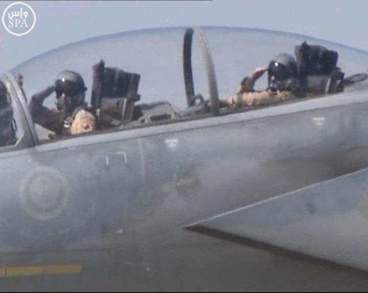 طائرات سعودية تصل لقاعدة تركية