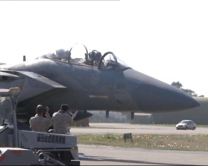 طائرات سعودية تصل لقاعدة تركية2
