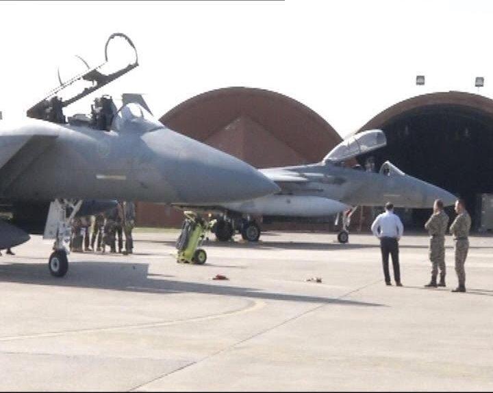 طائرات سعودية تصل لقاعدة تركية3