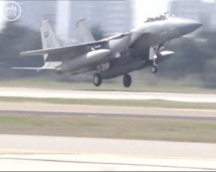 طائرات سعودية تصل لقاعدة تركية6