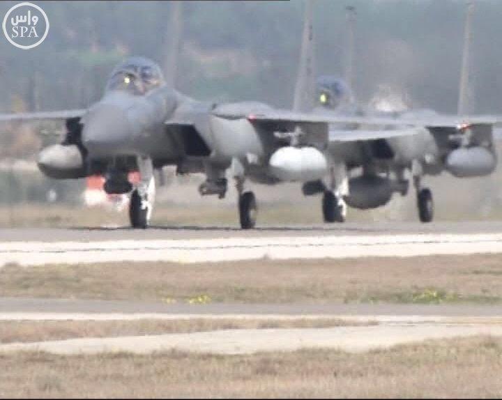 طائرات سعودية تصل لقاعدة تركية9