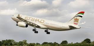 طائرة الاتحاد الامارتية