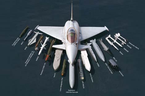 طائرة التايفون نجم رعد الشمال (1)