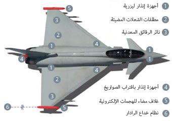 طائرة التايفون نجم رعد الشمال (3)