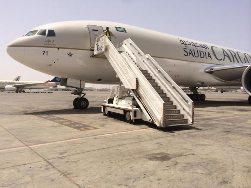 طائرة الخطوط السعودية للشحن