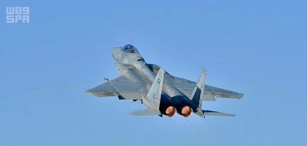 طائرة جوية حربية سعودية