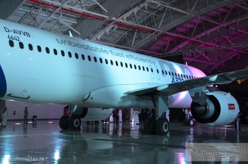 طائرة حفل تدشين مطار الملك عبدالعزيز بجدة (8)