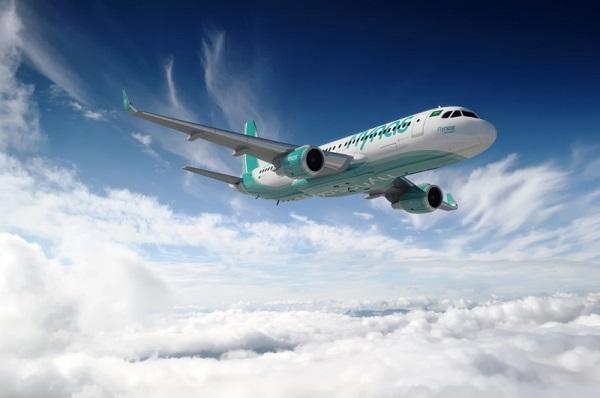 طائرة طيران ناس 2014