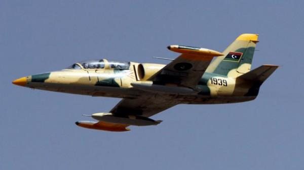 طائرة عسكرية ليبيه