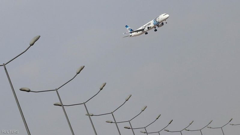An EgyptAir plane lands at Cairo Airport in Egypt May 19, 2016. REUTERS/Amr Abdallah Dalsh