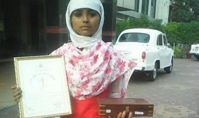 طالبة هندية