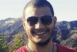 طالب مصري عماد الدين السيد يواجه الترحيل بعد تهديده ترامب