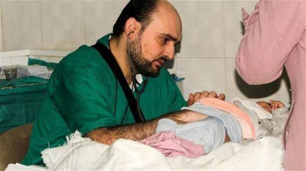 طبيب سوري في حلب