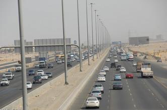 احتراق مركبة على طريق الحرمين - المواطن